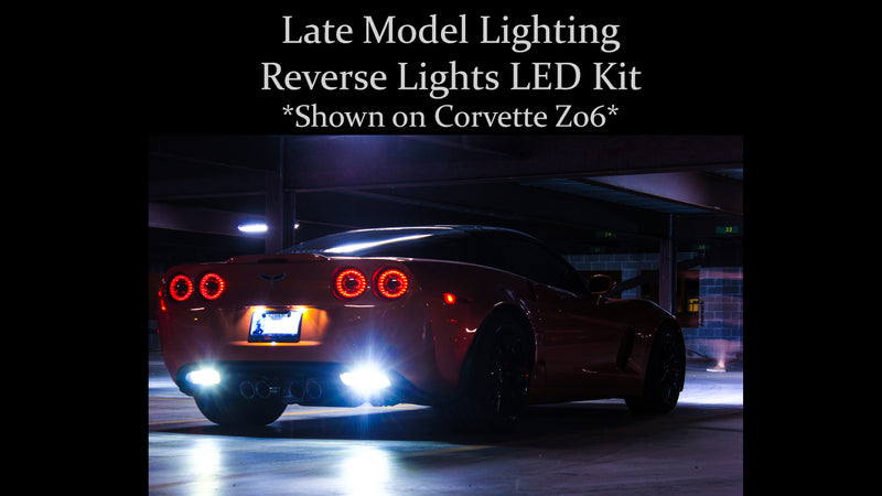1997-2019 Chevrolet Camaro Reverse Lights LED Kit - Brightest Available