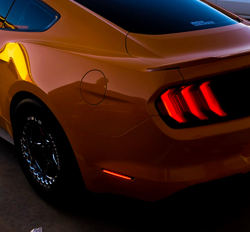 2015-2020 Ford Mustang Rear LED Side Markers (Blade Style)
