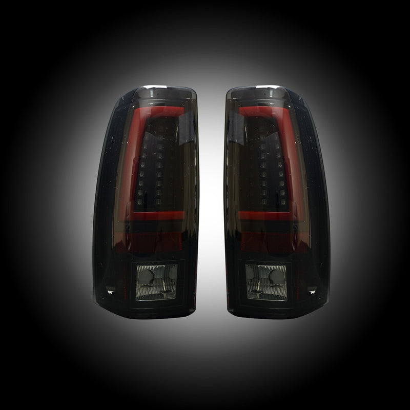 1999-2007 Chevrolet Silverado and GMC Sierra RECON LED Halo Taillights