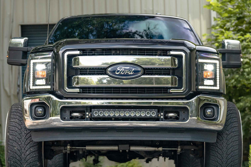 2011-2016 Ford Super Duty: XB HYBRID LED HEADLIGHTS (F250, F350, F450, F550)