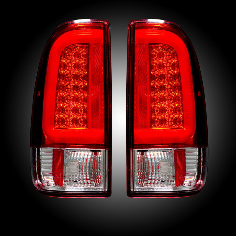 1997-2007 Ford F150 and Super Duty (F150, F250, F350, F450) RECON Halo LED Tail Lights