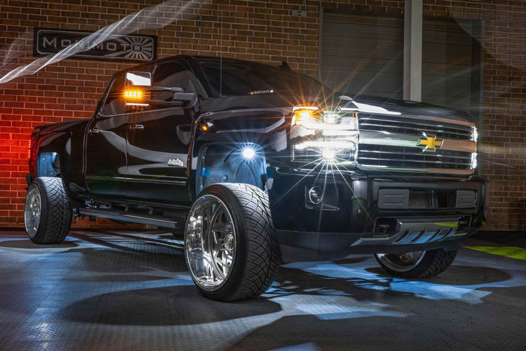 2015-2019 Chevy Silverado 2500/3500: XB LED Headlights (New Style)