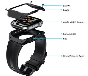 W-Series34 Waterproof Smart Watch Anti-fall protection strap