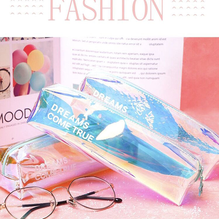 2019 luxury fashion Laser student pencil case