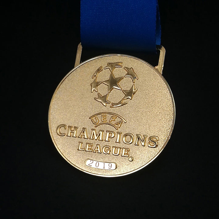2018~2019 European Football League Champion Gold Medal - [LIMITED EDITION OF 2019 PIECES]