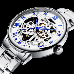 [Free Delivery] Limited sale gold luxury waterproof mechanical fashion watch