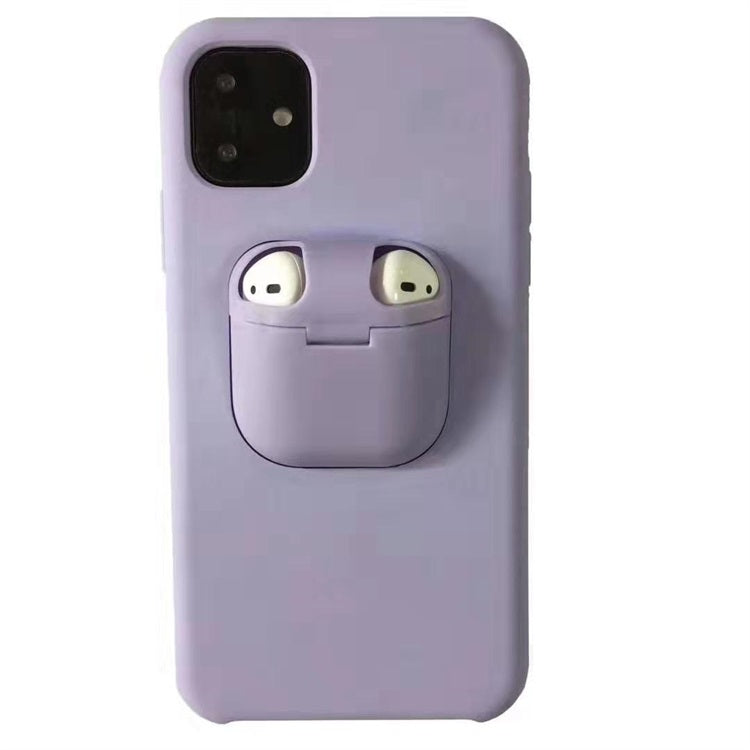 iPhone and Airpods 2-in-1 silicone phone case