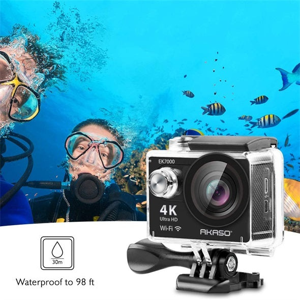 FDR-X3000 4K Action Cam with Wi-Fi® & GPS9(4K optical image stabilization 60m waterproof case 3x zoom)