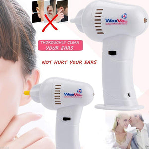 EAR CLEANER WAX REMOVAL CLEANING TOOL – ELECTRIC CORDLESS VACUUM