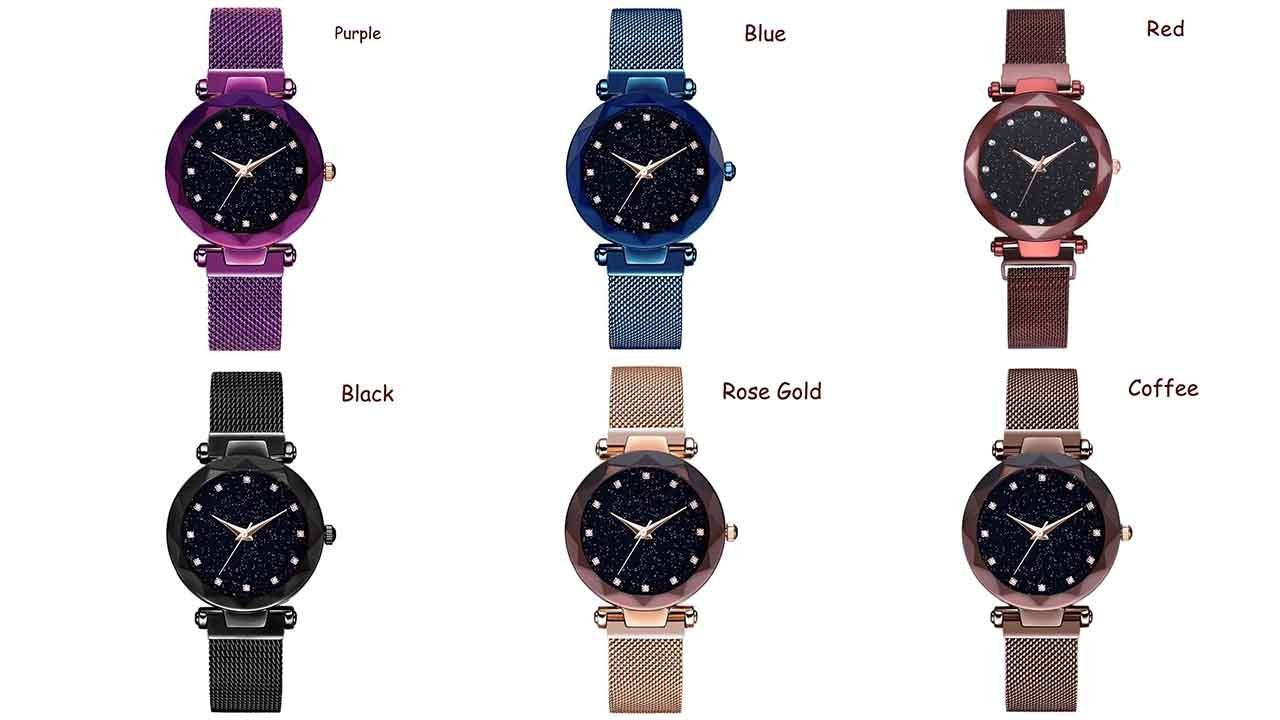 Duty-Free-Shop-50%OFF-Last day promotion - Six Colors Starry Sky Watch Perfect Gift Idea(Buy 3 Get 1 Free!)