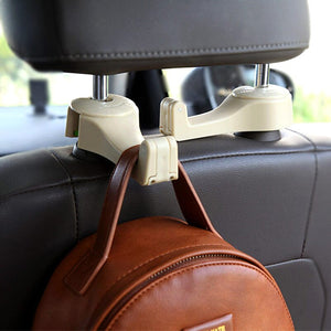 50%OFF-Last day Promotion - Car Headrest Hook 2-in-1