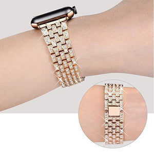 Diamond Luxury Stainless Steel Bracelet Replacement Compatible W Series