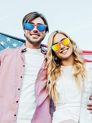 50%OFF-Last day promotion-American Patriot Flag Glasses