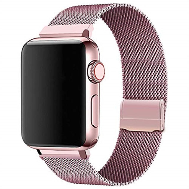 Luxury Stainless Steel Bracelet Replacement Compatible iWatch Series 5/4/3/2/1