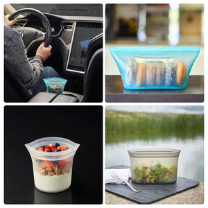 (Father's Day Promotion!!! 80% off)Zip Lock Leakproof Containers-Completely Plastic-Free