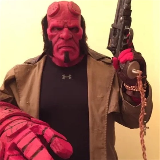 Hellboy Mask And Freddy Krueger Mask(Hallowmas)-50%OFF-Last Day Promotion