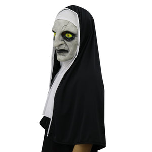 The Conjuring 2 nuns Mask Halloween Horror frightening frightened female ghost face head poison party supplies
