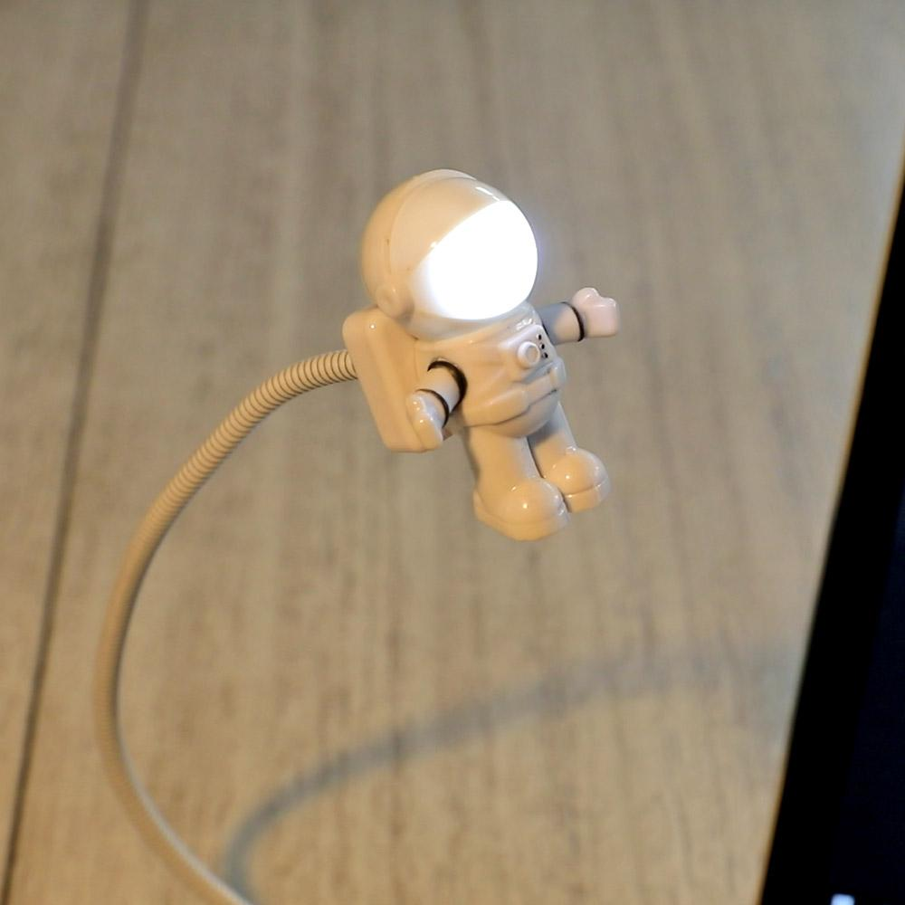 Duty-Free-Shop-50% OFF Discount For Today's Promotion-Astronaut USB LED Lamp