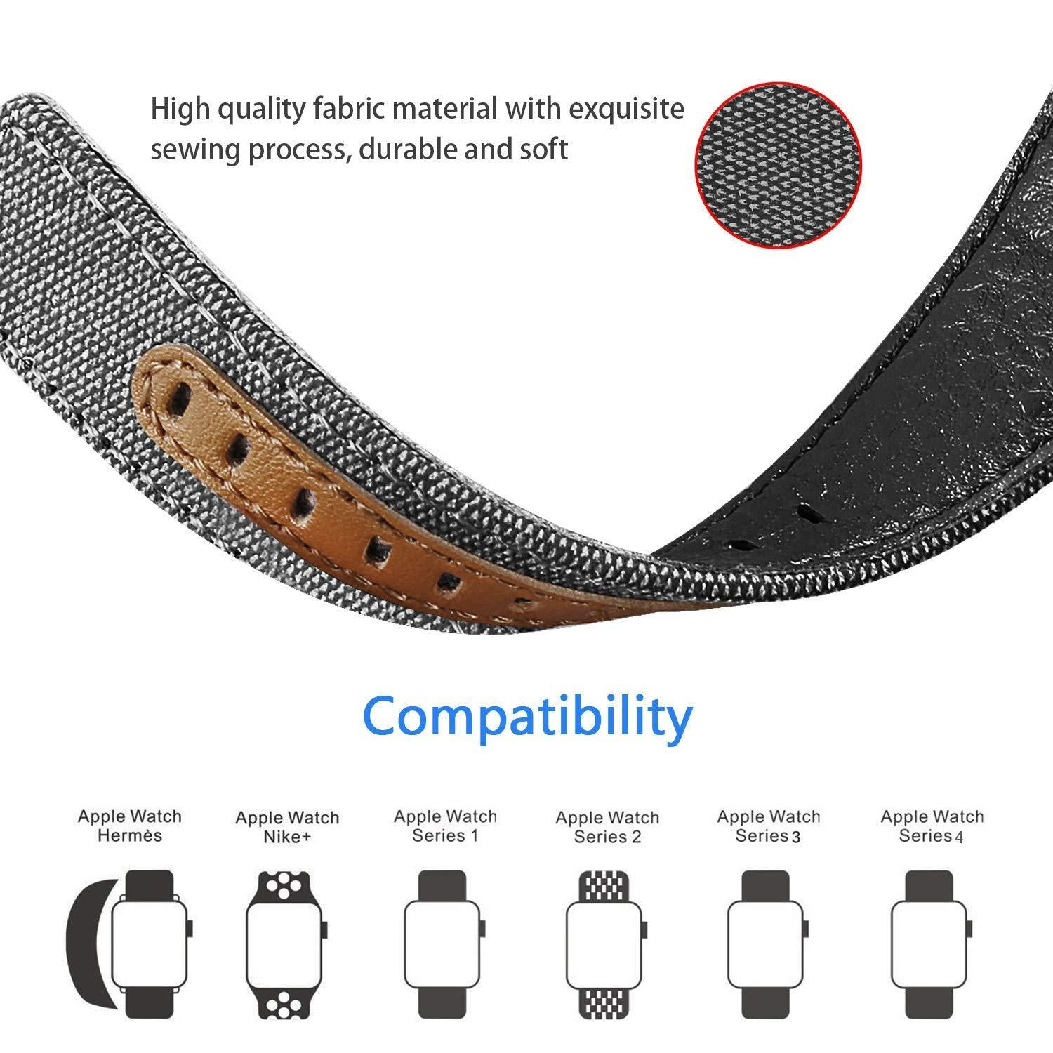 W34 Watch Band Adjustable Compatible With