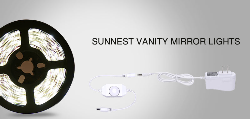 Sunnest Vanity Mirror Lights, light up your beauty