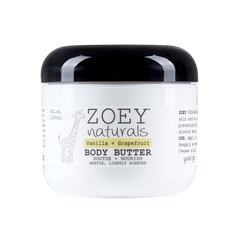 ZOEY naturals - Vanilla Grapefruit Body Butter