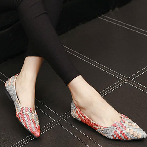 Woven Color Matching Flats