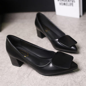 Fashion Simple Style Pointed Shoes