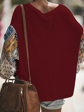 Load image into Gallery viewer, Casual Loose Color Matching Long-Sleeved Knitting Shirt