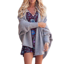 Load image into Gallery viewer, Fashion Autumn Bat Sleeve Cardigan
