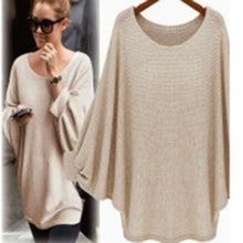 Load image into Gallery viewer, Solid Color Fashion Sweater