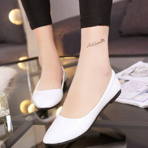 Plain Round Toe Casual Flat & Loafers