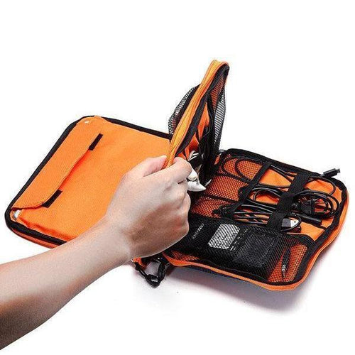 Travel double waterproof digital storage bag