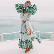 Load image into Gallery viewer, Women's Summer Bohemian Long Maxi Party Beach Dress