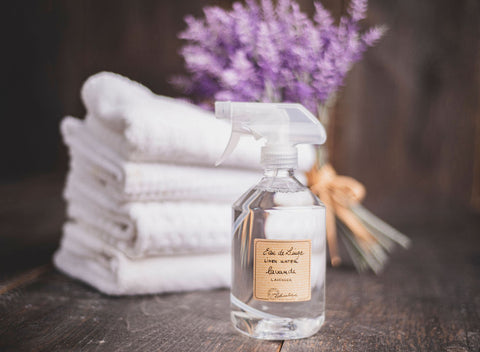 Lavender can be distilled and added into fragrances like linen water