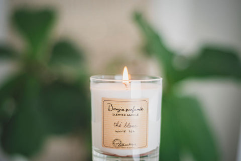 Candle wax can be created from vegetable oil