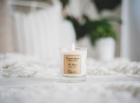 Light your favourite Lothantique candle and relax