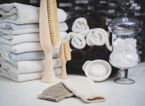 Schedule your exfoliation and use gentle products