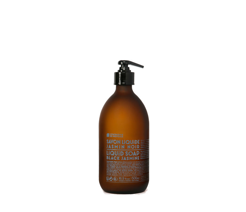 Compagnie de Provence 500mL Liquid Soap Black Jasmine