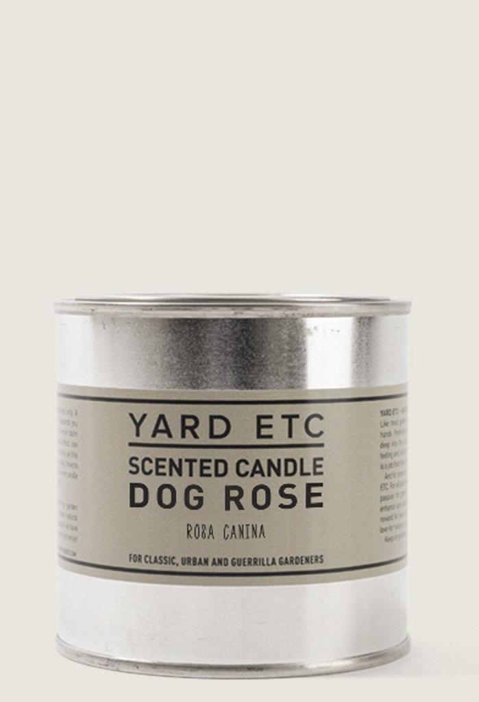 Yard ETC. Scented Candle Dog Rose 8.5 oz