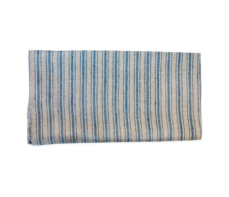 Caravan Linen Boat Stripe Natural/Blue Tea Towel