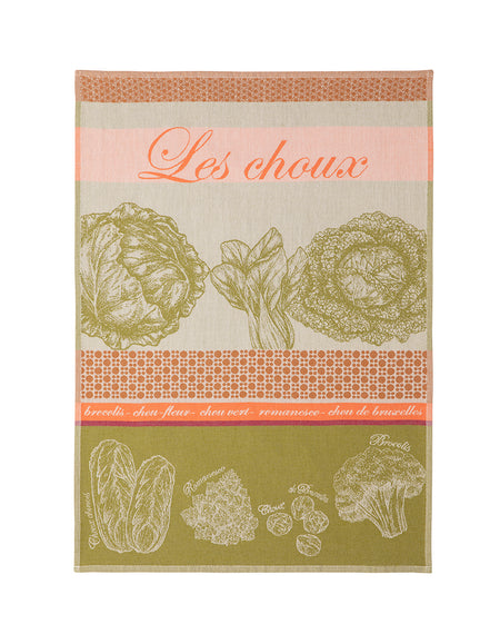 Coucke Choux Rose Tea Towel - Lothantique Canada