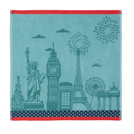 Coucke Cities Terry Tea Towel - Lothantique Canada