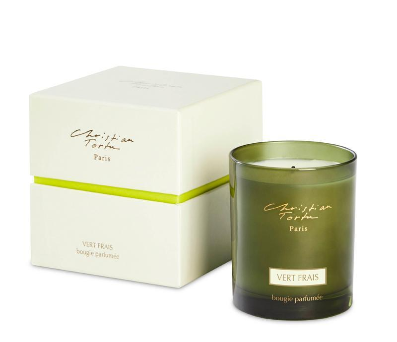 Christian Tortu 190g Scented Candle Fresh Green - Lothantique Canada