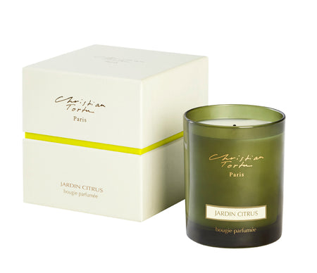 Christian Tortu 190g Scented Candle Citrus Garden - Lothantique Canada