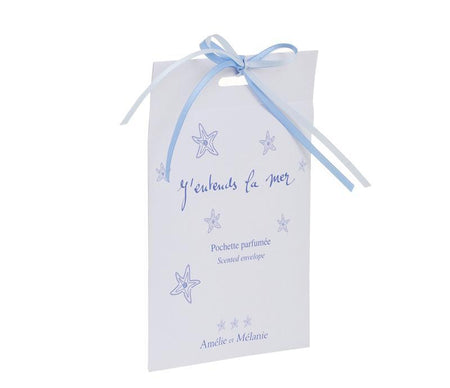 J'Entends la Mer Scented Envelope Sachet