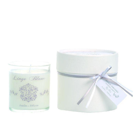 Linge Blanc 140g Scented Candle - Lothantique Canada