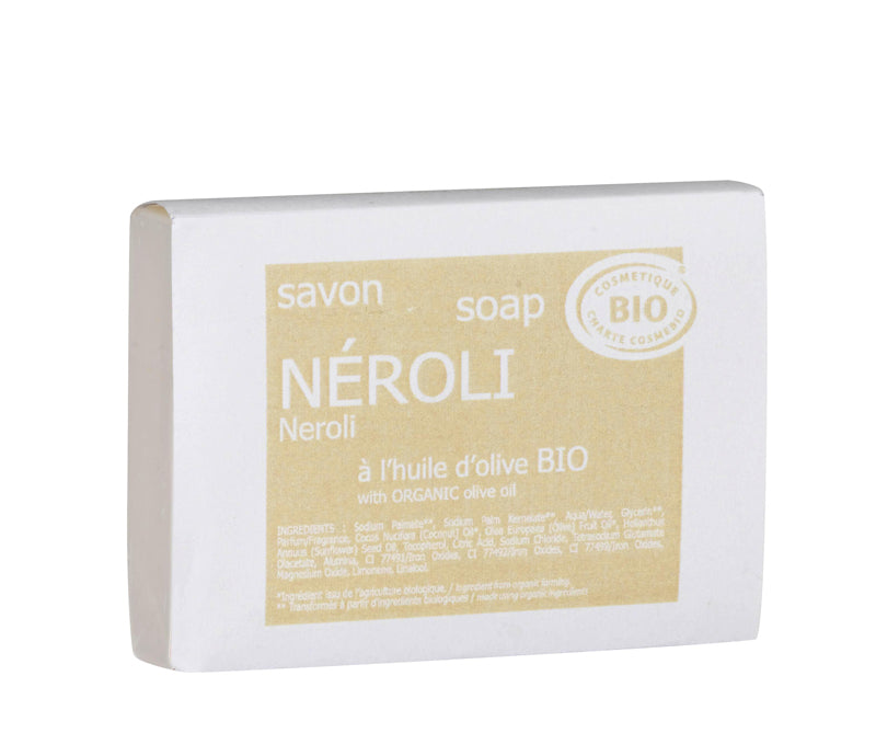 Lothantique Organic 100g Neroli Soap - NEW!