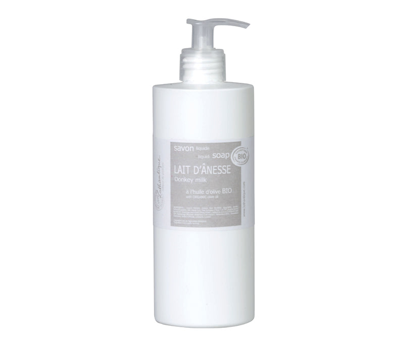 Lothantique Organic 500mL Donkey Milk Liquid Soap - Lothantique Canada
