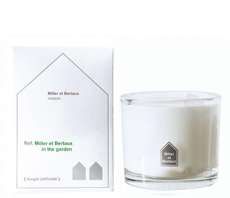 Miller et Bertaux Scented Candle In the Garden - Lothantique Canada