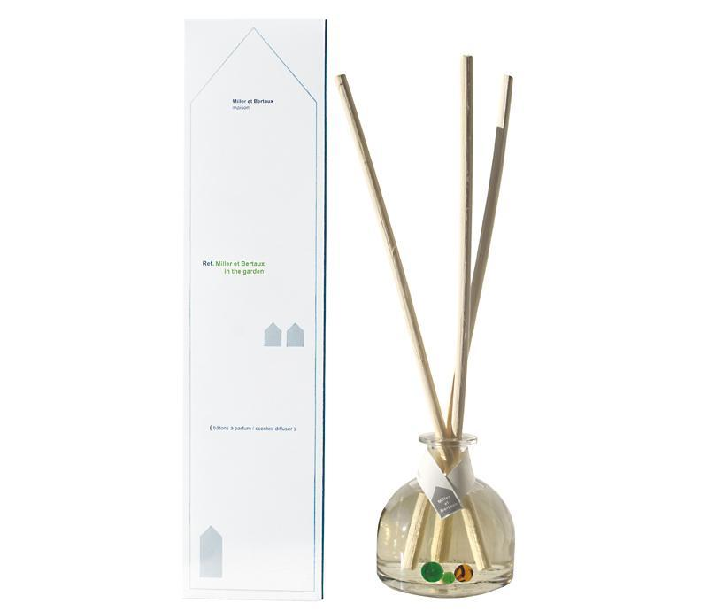 Miller et Bertaux 250mL Fragrance Diffuser In the Garden - Lothantique Canada